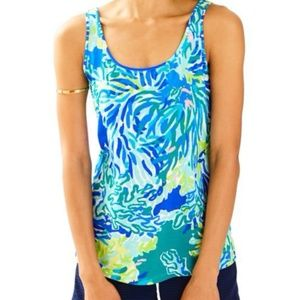 Lilly Pulitzer Kinsey Print Tank Top
